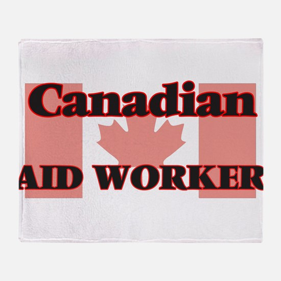 Canadian Aid Worker Throw Blanket