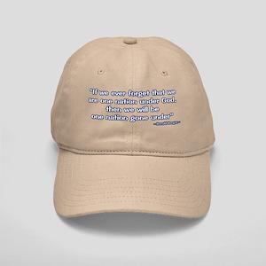 President Reagan Gone Under Cap