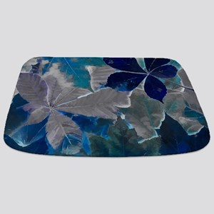 Fallen Leaves Abstract Bathmat