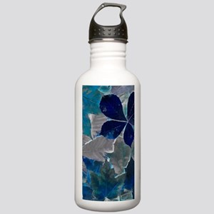Fallen Leaves Abstract Stainless Water Bottle 1.0L