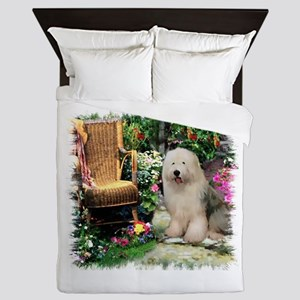 Garden Gate Olde English 3 Queen Duvet