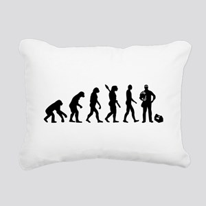 Evolution Electrician Rectangular Canvas Pillow