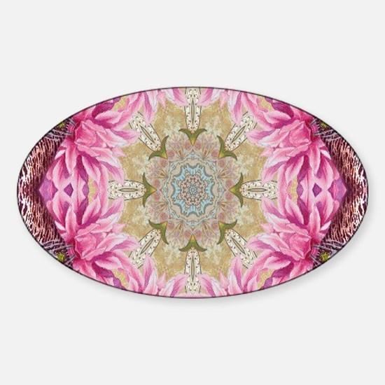 zen pink lotus flower hip Decal