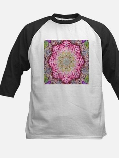 zen pink lotus flower hipster Baseball Jersey