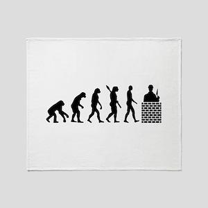 Evolution Mason Throw Blanket