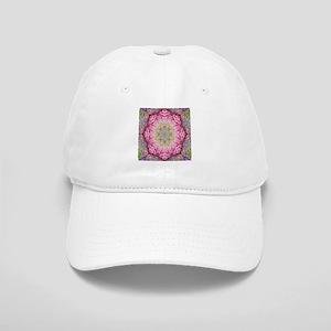 zen pink lotus flower hipster Cap