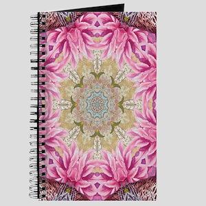 zen pink lotus flower hipster Journal