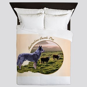 Australian Cattle Dog Keeper Queen Duvet