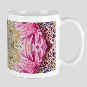 zen pink lotus flower hipster Mugs