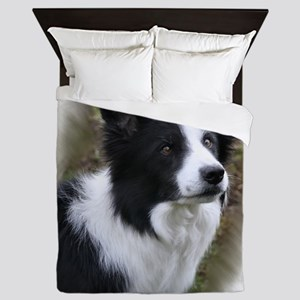 Border Collie Simon Queen Duvet