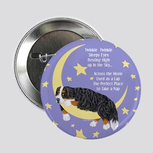 Bernese MT Dog Twinkle Button