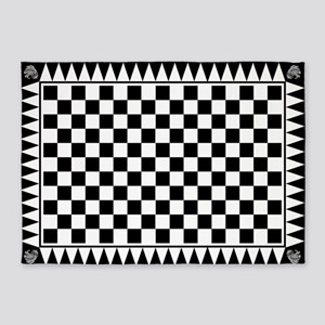 Masonic Tessellated Pavement 5'x7'area Rug