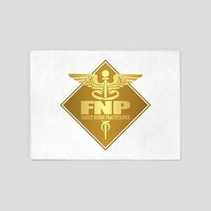 FNP (g)(diamond) 5'x7'Area Rug
