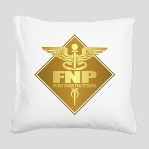 FNP (g)(diamond) Square Canvas Pillow