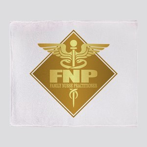 FNP (g)(diamond) Throw Blanket