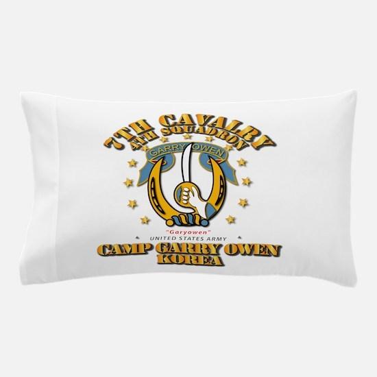 4/7 Cav - Camp Gary Owen Korea Pillow Case