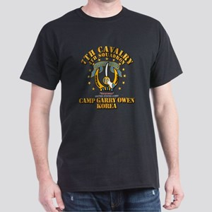 4/7 Cav - Camp Gary Owen Korea Dark T-Shirt