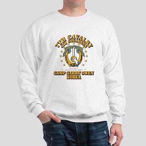 4/7 Cav - Camp Gary Owen Korea Sweatshirt
