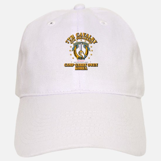 4/7 Cav - Camp Gary Owen Korea Baseball Baseball Cap