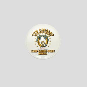 4/7 Cav - Camp Gary Owen Korea Mini Button