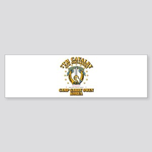4/7 Cav - Camp Gary Owen Korea Sticker (Bumper)