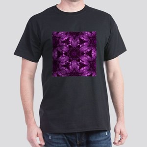 cute girly purple floral T-Shirt