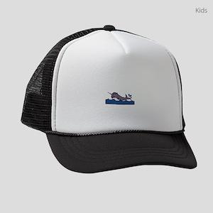Baby Girl Narwhal Kids Trucker hat