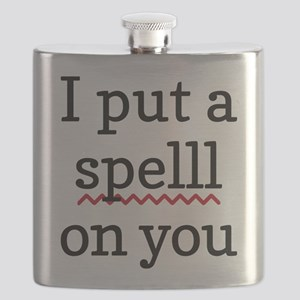 I Put A Spell Check On You Flask