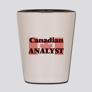 Canadian Analyst Shot Glass