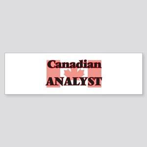 Canadian Analyst Bumper Sticker