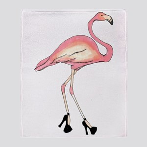 Flamingo Throw Blanket