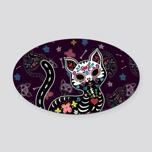 plannercover-01 Oval Car Magnet