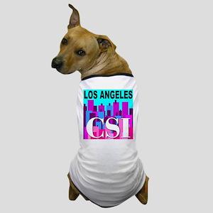 Los Angeles CSI Dog T-Shirt