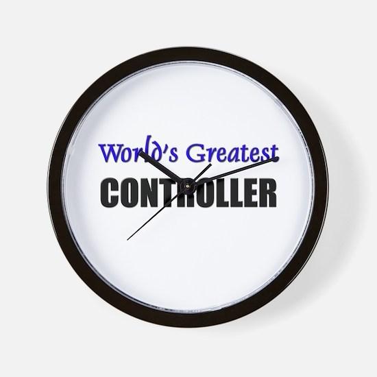 Worlds Greatest CONTROLLER Wall Clock