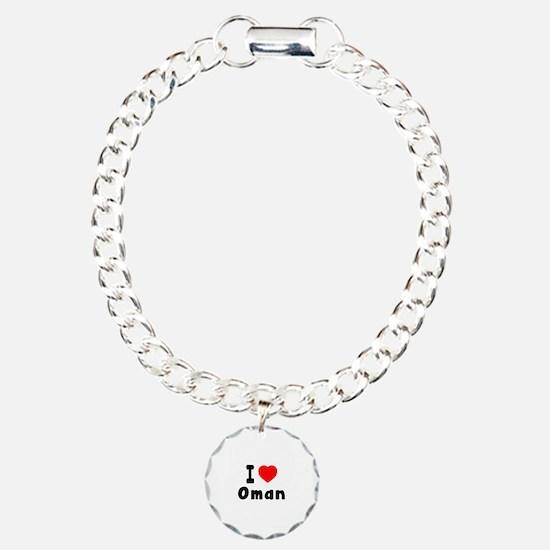 I Love Oman Bracelet