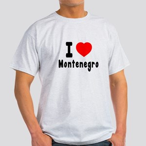 I Love Montenegro Light T-Shirt