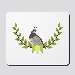 Christmas Partridge Mousepad