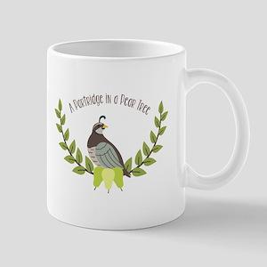 Partridge In Pear Tree Mugs