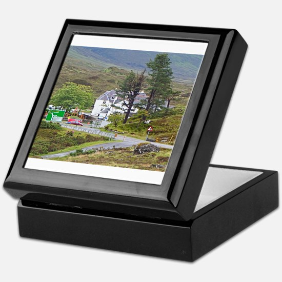Sligachan Hotel, Isle of Skye, Scotla Keepsake Box