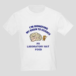 Brain Donation Kids Light T-Shirt