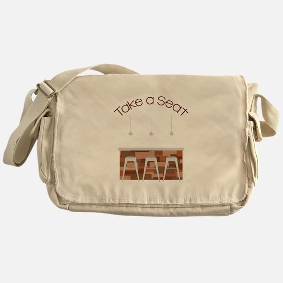 Take A Seat Messenger Bag
