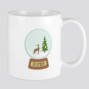 December Globe Mugs