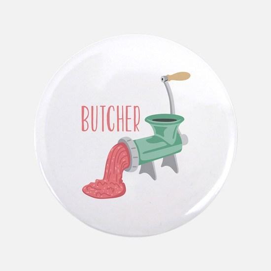 """Butcher Grinder 3.5"""" Button (100 pack)"""