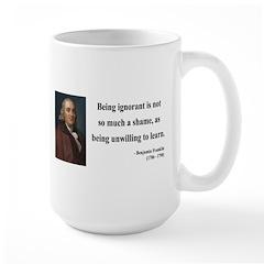 Benjamin Franklin 9 Large Mug