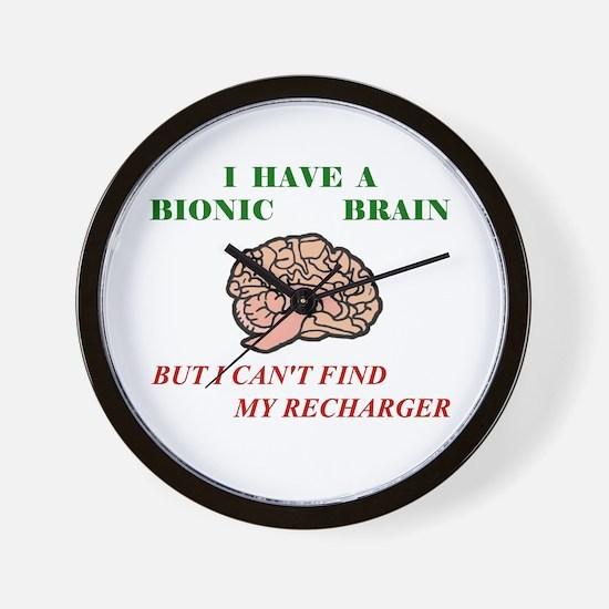 Bionic Brain Wall Clock