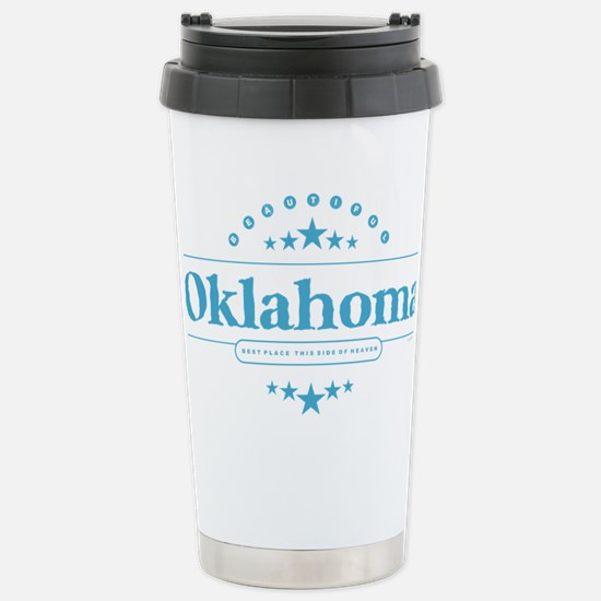 Oklahoma Stainless Steel Travel Mug