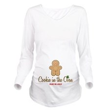 Cookie Due July Long Sleeve Maternity T-Shirt
