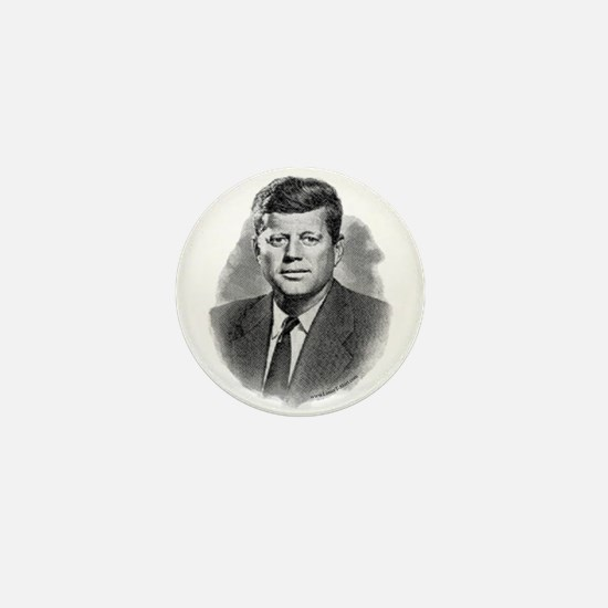 John Fitzgerald Kennedy Mini Button