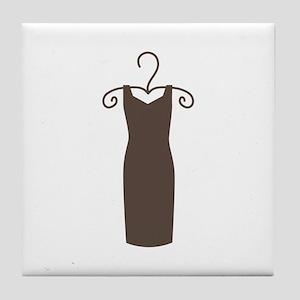 Dress On Hanger Tile Coaster
