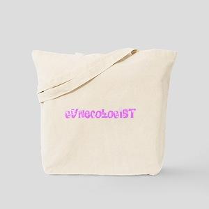Gynecologist Pink Flower Design Tote Bag